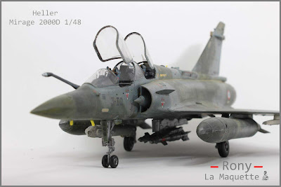 Mirage 2000 D  Heller