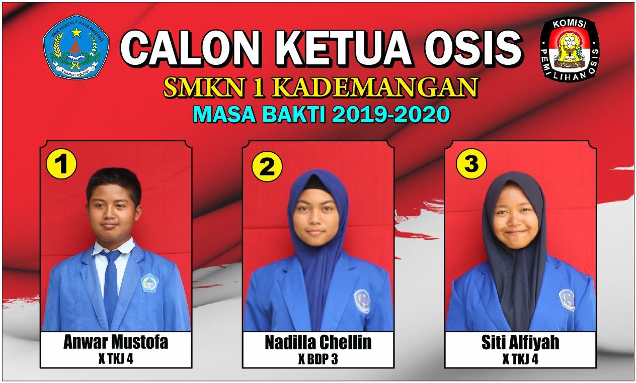 Pemilihan Ketua Osis Masa Bakti 2019 2020 Smkn 1 Kademangan