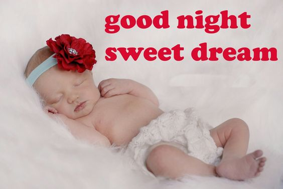 Good Night Cute Baby Picture
