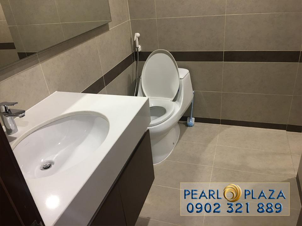 Pearl Plaza Bình Thạnh - lavabo tại phòng vệ sinh