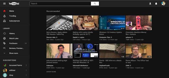 Begini cara Aktifkan Dark Mode di YouTube Melalui Google Chrome
