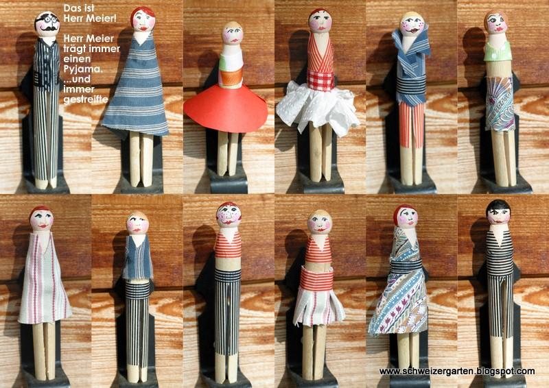 Basteln Mit Holz Wäscheklammern Dansenfeesten
