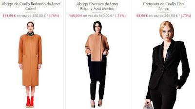 abrigos lana chaqueta