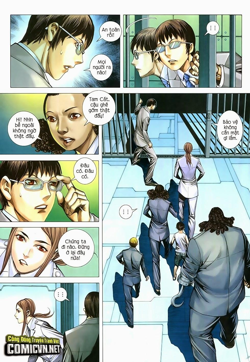 Đại Quân Phiệt chap 29 trang 3
