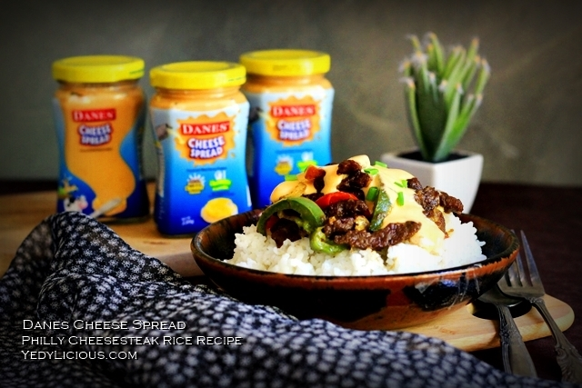 Danes Cheese Spread Blog Review Philly Cheesesteak Rice Easy Recipe Where To Buy Price Facebook Twitter Instagram YedyLicious Manila Food Blog