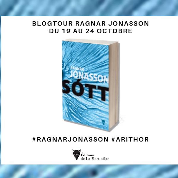 #blogtour Sótt de Ragnar Jónasson