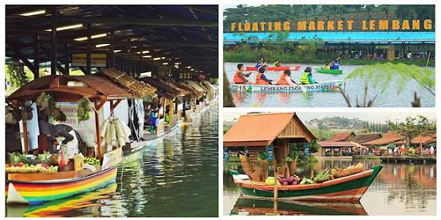 Tempat Wisata di Lembang Bandung Floating Market