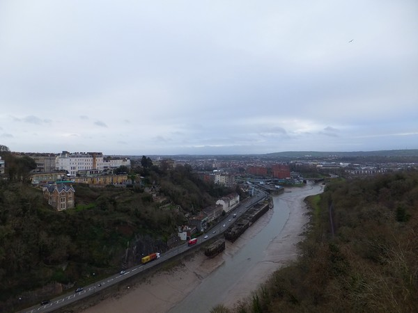 bristol clifton pont bridge vue