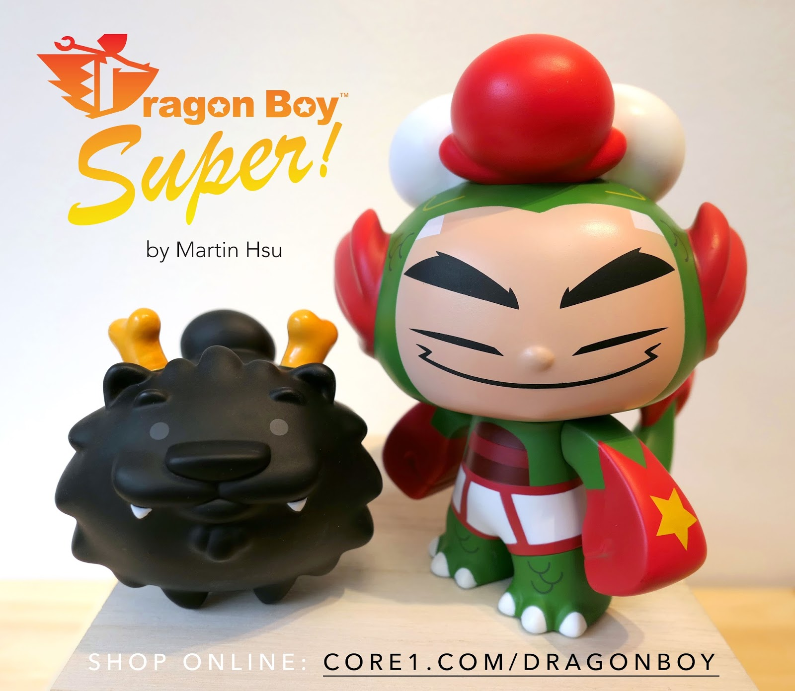 Jade Martin Hsu Simple martin hsu's dragon boy super for cyber monday release (24hrs order)