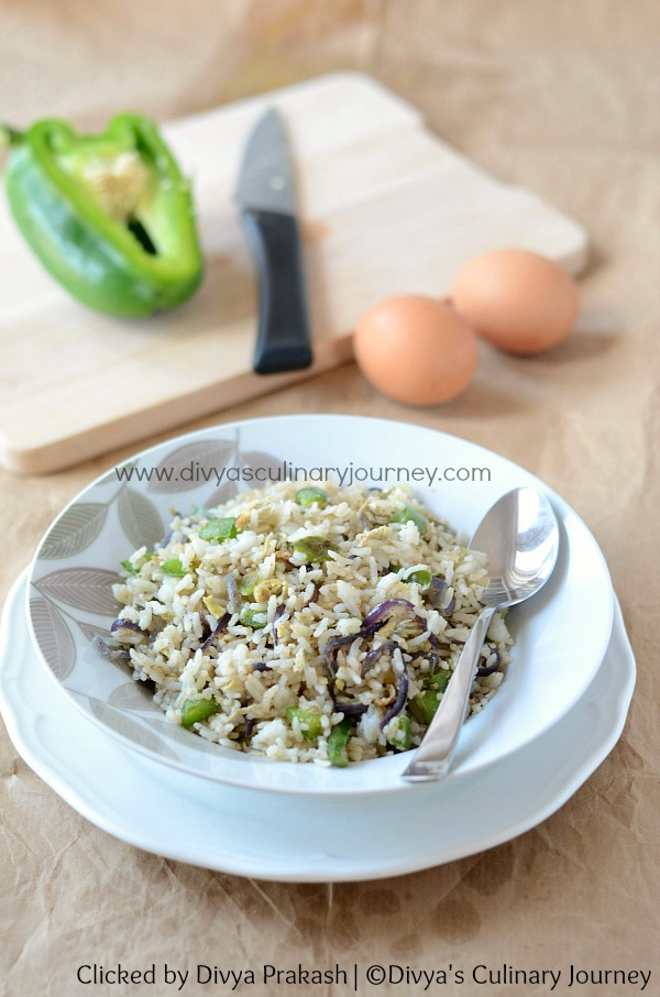 easy egg fried rice recipe
