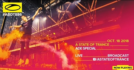 Armin Van Buuren - A State Of Trance 886 (ADE Special) @ Radio DJ ONE