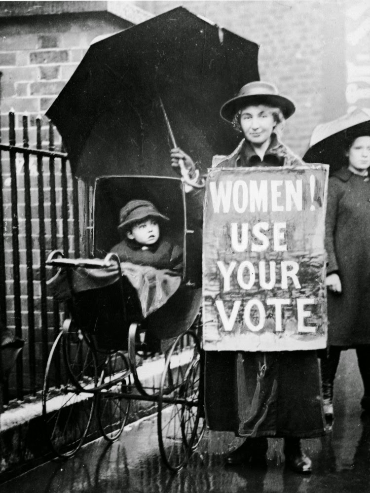 women s right to vote Susan b anthony - 1873 post-note: following her death in 1906, after five decades of tireless work, the democratic and republican parties both endorsed women's right to vote in august of 1920, the 19th amendment to the us constitution was finally ratified, allowing women to vote.