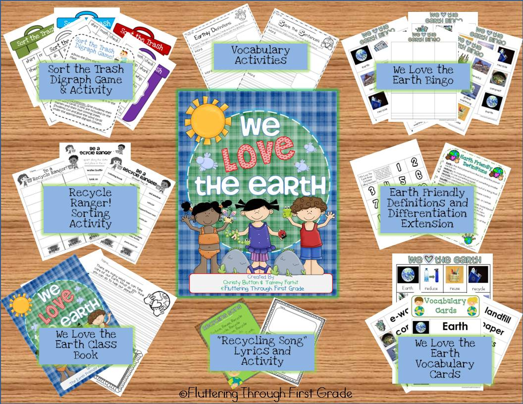 Earth week lesson plans and activities