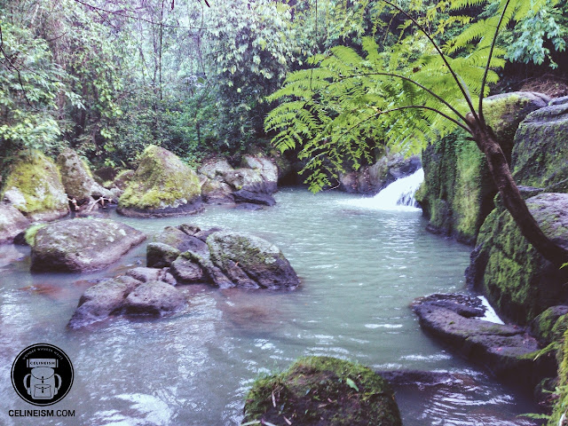 Talay falls in laguna