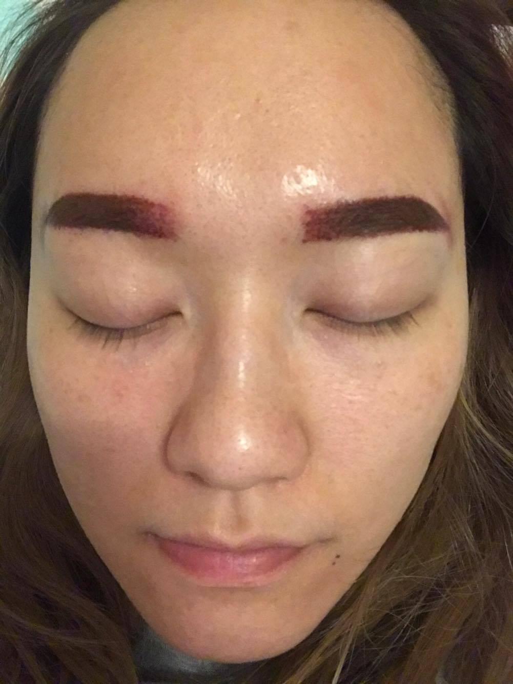 超自然半永久式霧眉 M Beauty Concept韓式霧眉分享! | 懶系女孩生活日誌 – U Blog 博客