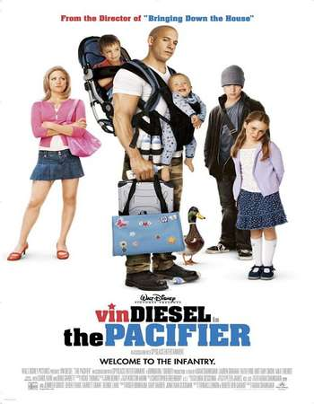 Poster Of The Pacifier 2005 Hindi Dual Audio 400MB BluRay 720p HEVC Free Download Watch Online downloadhub.in