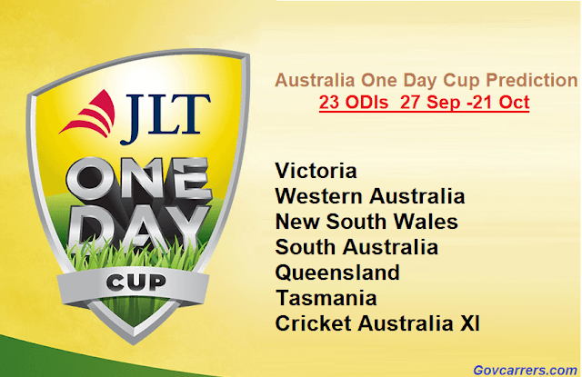 jlt one day cup predictions