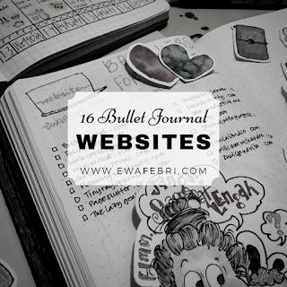 16 websites inspiration for bullet journal