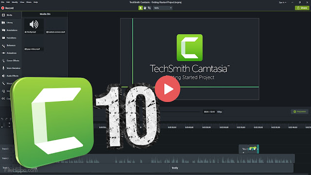 CAMTASIA 10 TUTORIAL BEGINERS