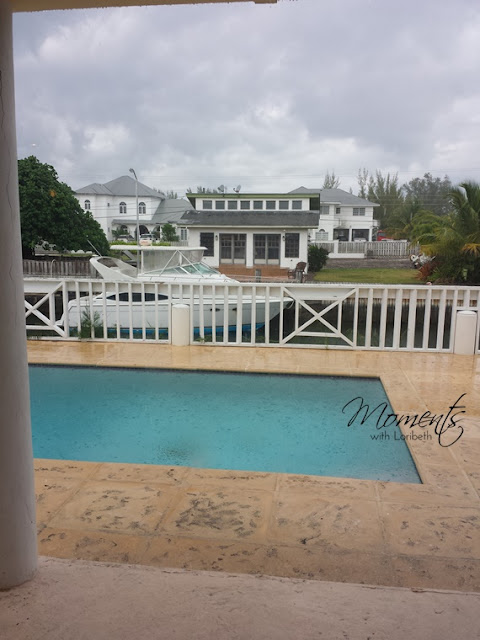 Rain in the Bahamas