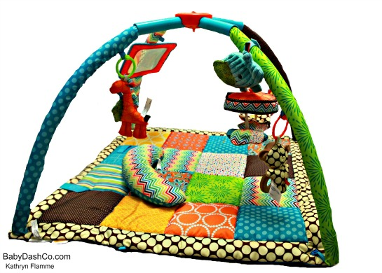 The Fibrofrog Twist And Fold Activity Gym Review Giveaway