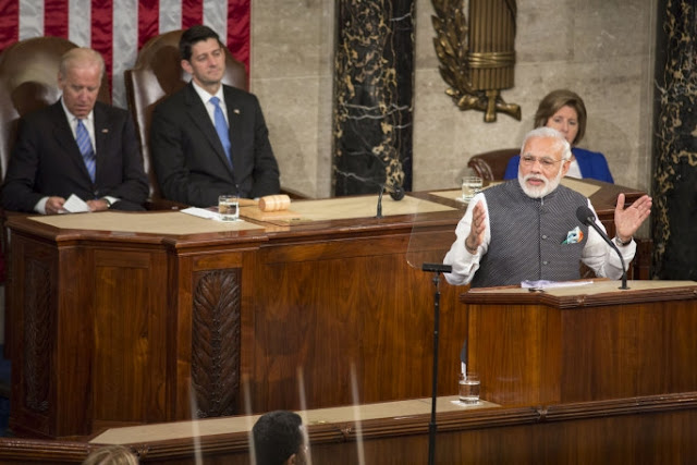 Indian PM Narendra Modi delivers historic speech at Capitol Hill