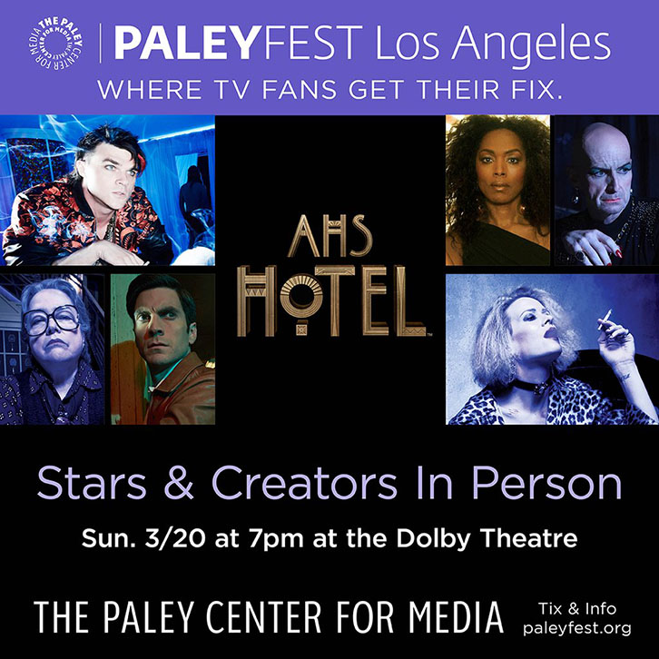 Questions for American Horror Story: Hotel at PaleyFest
