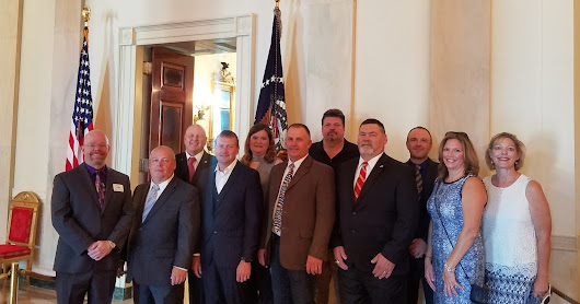 ND County Commissioners and Sheriffs Attend White House Meeting