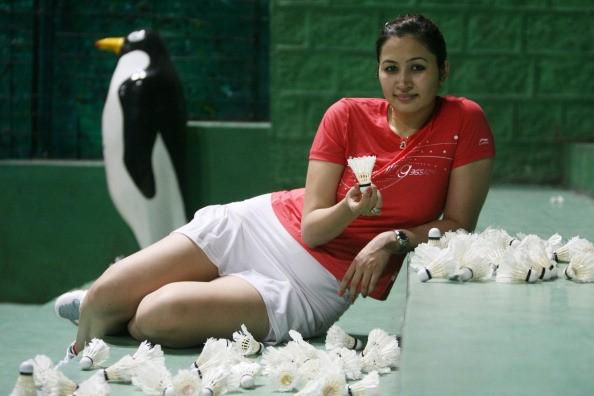 Atlet Badminton Yang Kecantikannya Mirip Bintang Bollywood