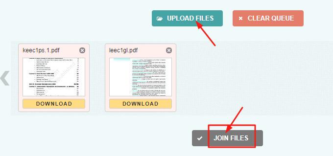 PDF Files ko merge kaise kare.