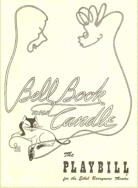 Playbill for 1950-51 production of Bell, Book and Candle