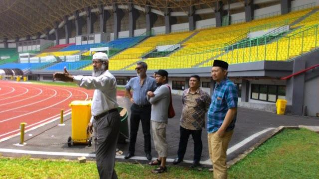 Zakir Naik Ceramah di Bekasi, Jumlah Petugas Keamanan di Stadion Lebihi Laga Persib