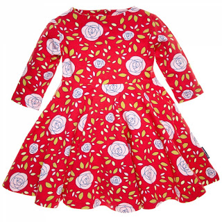 Polarn O. Pyret Summer Flower dress