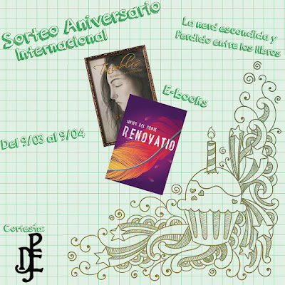 SORTEO EBOOKS TINIEBLAS Y RENOVATIO