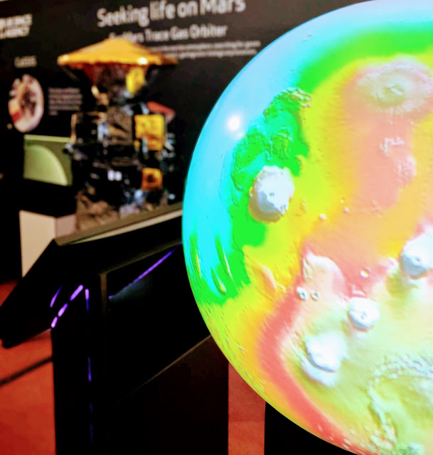 ExoMars Trace Gas Orbiter Royal Society Summer Science Exhibition
