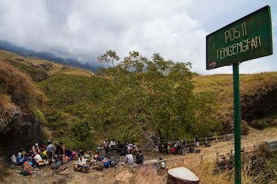 Pos Tangengean, Paket Rinjani Trekking