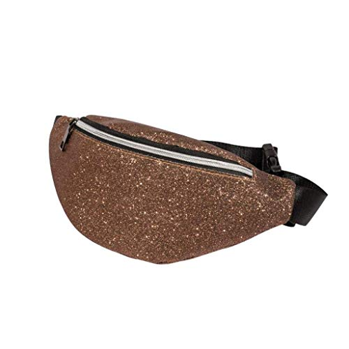 37feff2dce2f New Women's Fanny Pack,Bling Sequins Shoulder Bag Messenger Bag Chest  Crossbody Bag by-NEWONESUN Fitness Running Sports Bags 2019