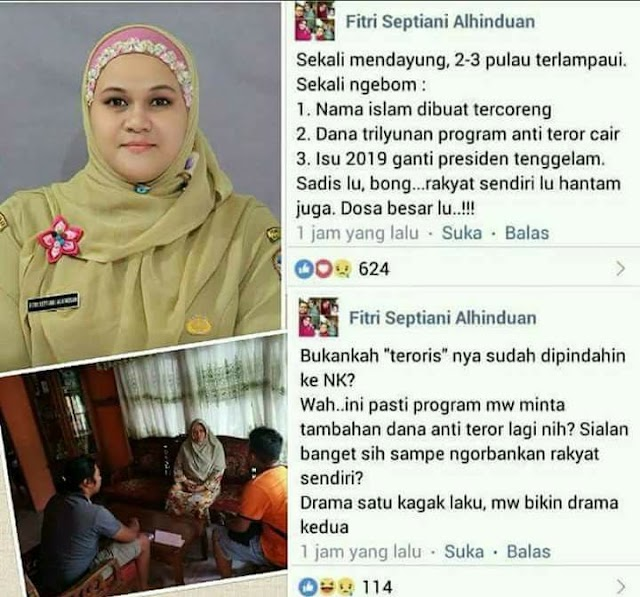 Munculnya Orang-orang Aneh di Media Sosial Pasca Teror Bom Surabaya: Tanda Indonesia dalam Bahaya (?)