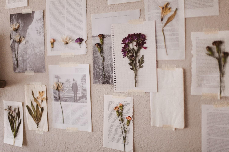Sincerely kinsey floral wall art diy