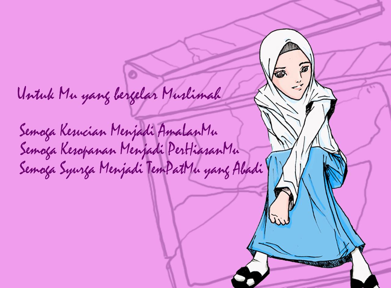 Unduh 9300  Gambar Animasi Kartun Muslimah Terbaru  Paling Baru