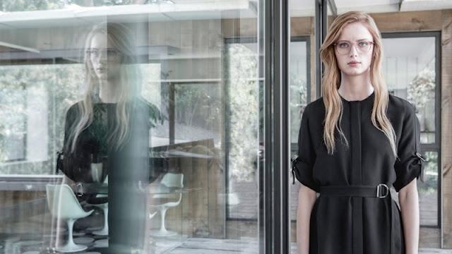 Rianne van Rompaey stars in BOSS' 2016 eyewear campaign
