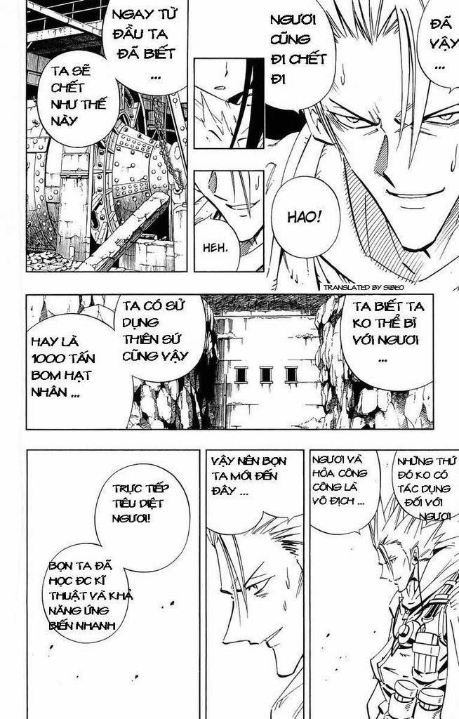 Shaman King [Vua pháp thuật] chap 232 trang 13