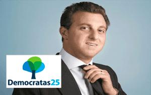 DEM namora Luciano Huck para possível candidatura em 2018