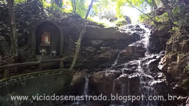 Cascata em Daltro Filho, Imigrante, Vale do Taquari, RS