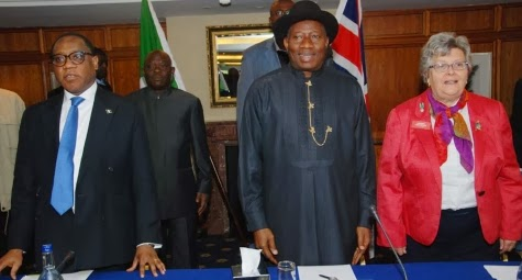 president jonathan discharged london hospital