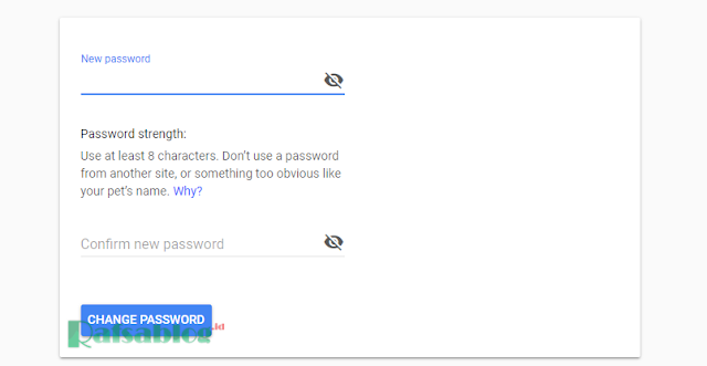 Cara Mengganti Password Gmail dengan Mudah