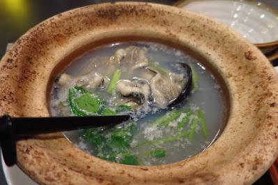 Japanese Restaurant Goku, oyster soup