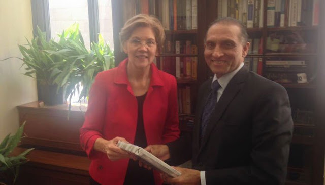 Aizaz briefs US senator on Pakistan's success in war against terrorism