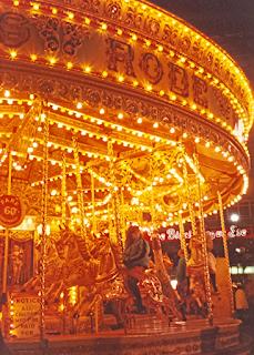 carousel new year carnival