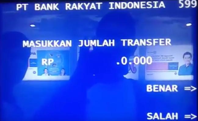 Cara Transfer Uang Menggunakan ATM BRI dilengkapi Gambar